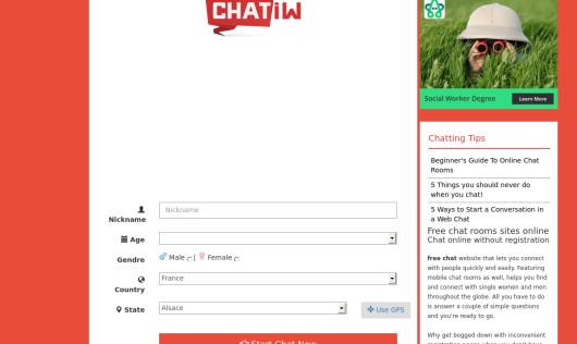 Www chatiw com